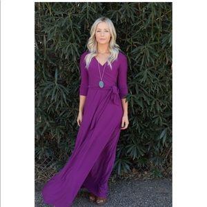 Gorgeous purple dress